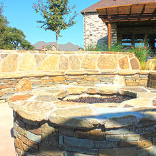 Traditional Patio by One Specialty Landscape Design, Pools & Hardscape