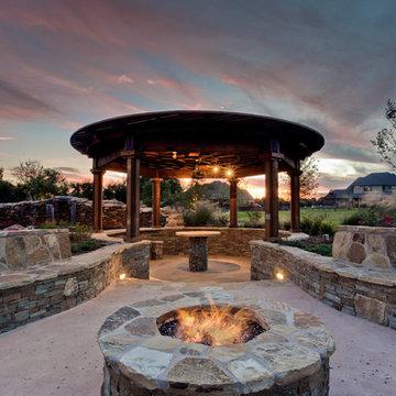 Aquarius - Custom Swimming Pool - Flower Mound, TX