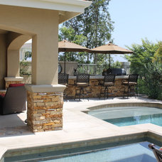 Traditional Patio by Mudd Industries, Inc.