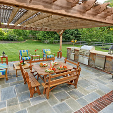 Traditional Patio by DiSabatino Landscaping