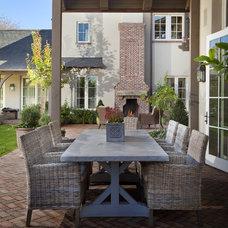Traditional Patio by Matthew Thomas Architecture, LLC