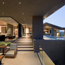 Contemporary Patio by Swaback Partners, pllc