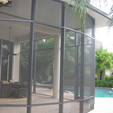 Traditional Patio by Coastal Screen and Rail