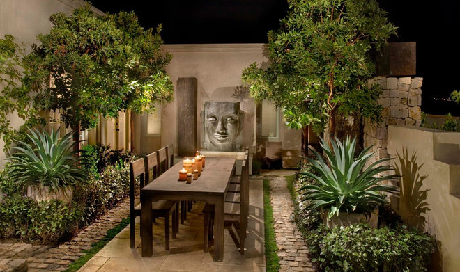 Asian Patio by Andrew R. Abrecht Photography