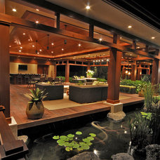 Tropical Patio by Meyers Creative