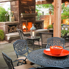 Traditional Patio by Lemcke Landscape, Inc.