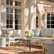 Traditional Patio by Liz Williams Interiors