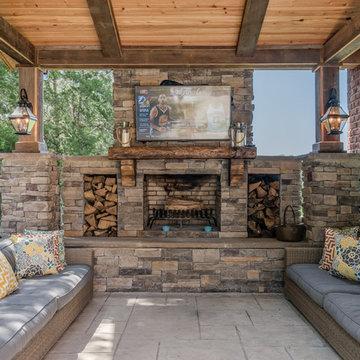 Arlington Heights Outdoor Retreat Design