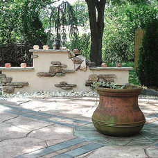Eclectic Patio by Art and Hammer