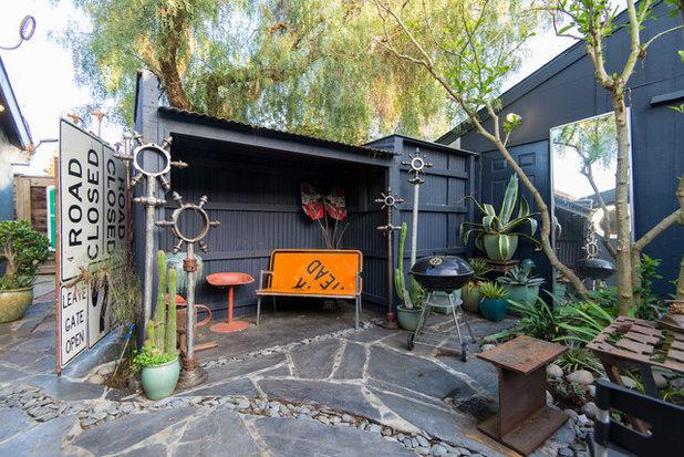 Éclectique Terrasse et Patio by Calista Chandler Photography