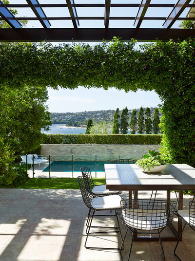 Contemporary Patio by Sarah Davison Interior Design