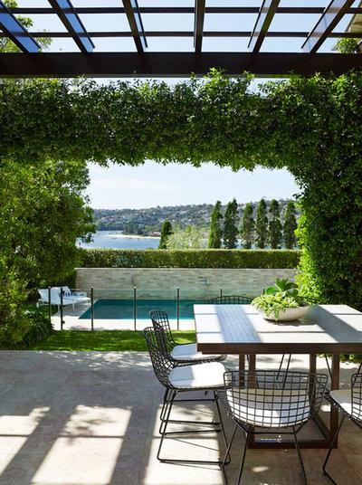 Contemporary Patio by Sarah Davison Interior Design