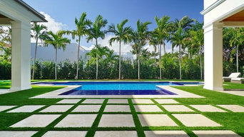 Artificial Grass & Paver Strips