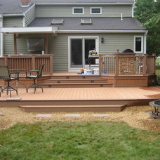 Traditional Patio by Morrell Construction Co Inc