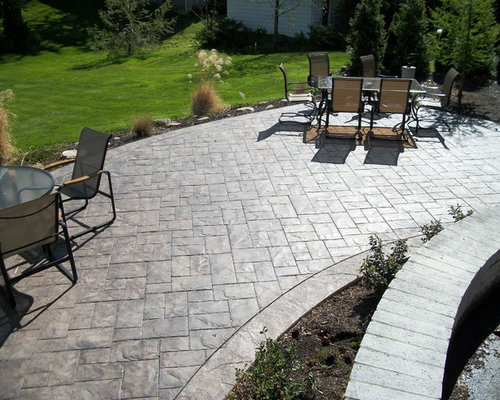 Stamped Concrete Design Ideas landscape patio idea twin falls idaho Saveemail Fordson Concrete