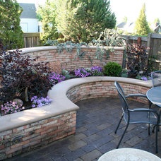 Eclectic Patio by Franciscan Landscape