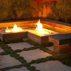 asian patio by Jeffrey Gordon Smith Landscape Architecture