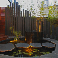 Asian Patio by C.O.S Design