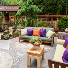 Asian Patio by J. Paul Moore Photography