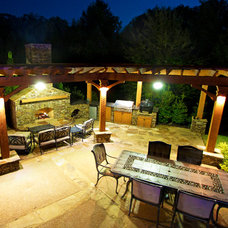 Traditional Patio by J. Brownlee Design