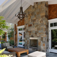 Traditional Patio by Markay Johnson Construction