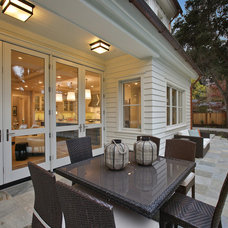 Transitional Patio by Clarum Homes