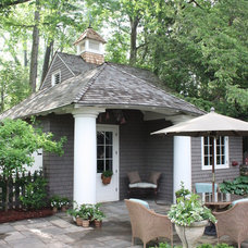 Traditional Exterior by Bradley E Heppner Architecture, LLC