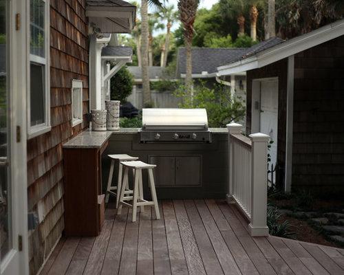 Ideas para patios dise os de patios costeros peque os for Diseno de patio exterior pequeno