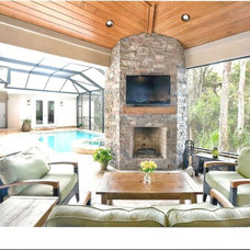 Traditional Patio by Tom Trout Inc