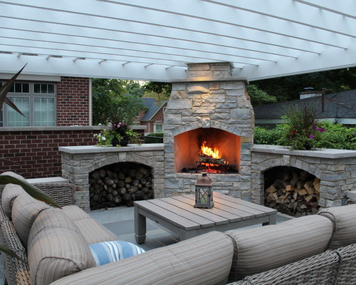 Best Patio Fireplace Design Ideas Remodel Pictures – Patio Fireplace