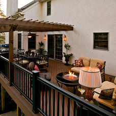 Traditional Patio by Elegant Interior Designs