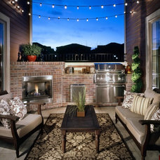 Traditional Patio by Godden Sudik Architects Inc