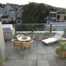 Contemporary Patio by Ashley Roi Jenkins Design, LLC