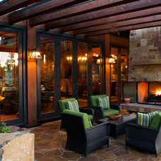 Rustic Patio by Steve Tague Studios