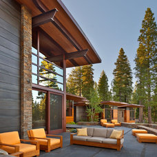 Contemporary Patio by Ward-Young Architecture & Planning - Truckee, CA