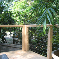 Modern Patio by Cacique Construction