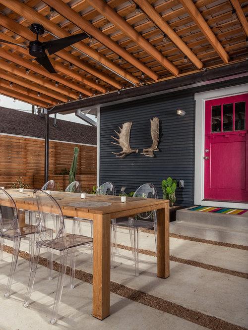 Houzz Patio Door Back Yard Design Ideas Amp Remodel Pictures