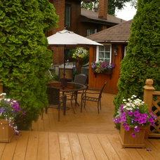 Traditional Patio back yard patio /Little House backyard kitchen.