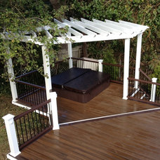 Traditional Patio by Ocean Spray Hot Tubs and Saunas