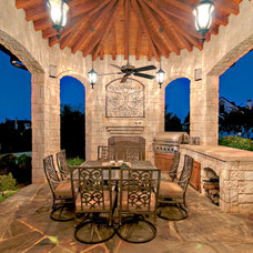 Mediterranean Patio by M2 Design Group