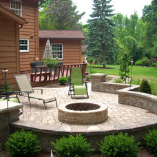 Traditional Patio by Graf's Landscape & Design