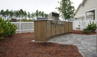 Backyard Kitchen Workstation