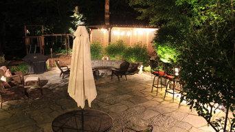 Backyard Lighting Kinnelon