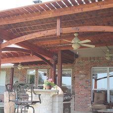 Traditional Patio by Garrett Outdoor Living LLC