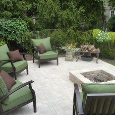 Traditional Landscape by Adorn Design Group, Inc.