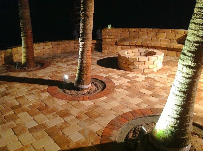 Contemporary Patio by A Better Paver