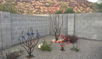 Backyard Metal Accent Sculptures