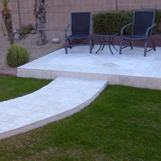 Traditional Patio by Authentic Durango Stone™