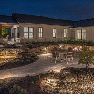 Backyard Patio Lighting | Lake House Outdoor Lighting Design