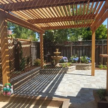 Backyard Pergola Shade Structures
